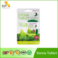 Breezweet natural low calorie sweeteners stevia tablets in dispenser