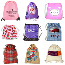 Wholesale cotton fabric Dust Bag/Shoe Bag/Drawstring Bag