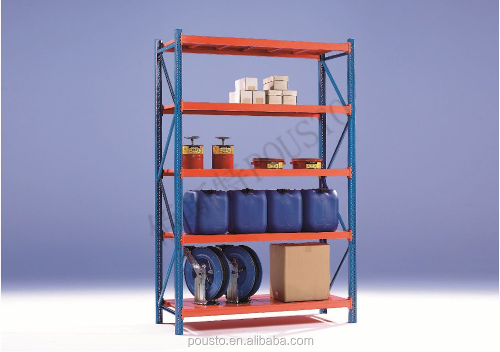 Medium-Sized Shelves applicable to warehouses, workshops, logistics and distribution centers