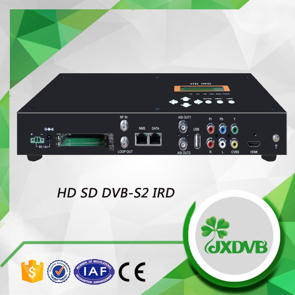 Low cost strong decoder HD IRD