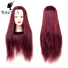 wholesale price training head lesson wig dummy manequin head