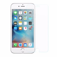 Wholesale HD Clear Anti shock Oleophobic Coating Bubble free 0.3mm 2.5d tempered glass screen protector for iphone 7/8