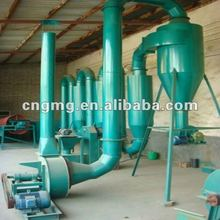 Wood sawdust dryer for biomass industry