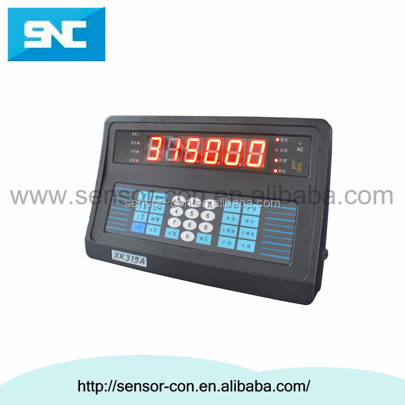 SC315A6(H) truck scales weighing indicator load cell indicator