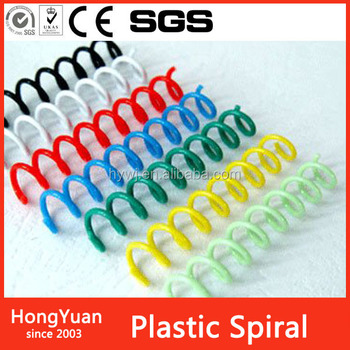 school supplies binder clip , spiral ring binder , plastic book spiral binding coil wire