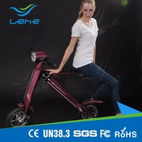 Dongguan LEHE patent protected 2 wheel adult electric balance scooters