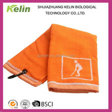 cotton sports towel for golf