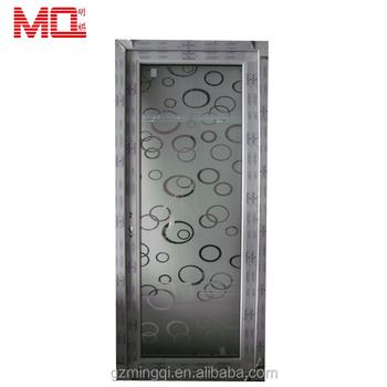 Interior Single Leaf Pvc Bathroom Doors Price Plastic Shower Door - Pvc bathroom doors