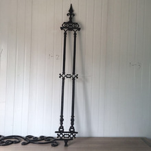 1.7M height antique design cast iron fence panel for factory hot sale