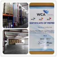China warehousing and consolidation services - Sunny Worldwide Logistics
