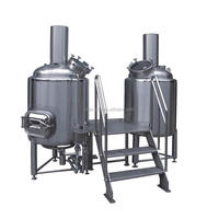 Day Output 600 2000 Liter Brewhouse