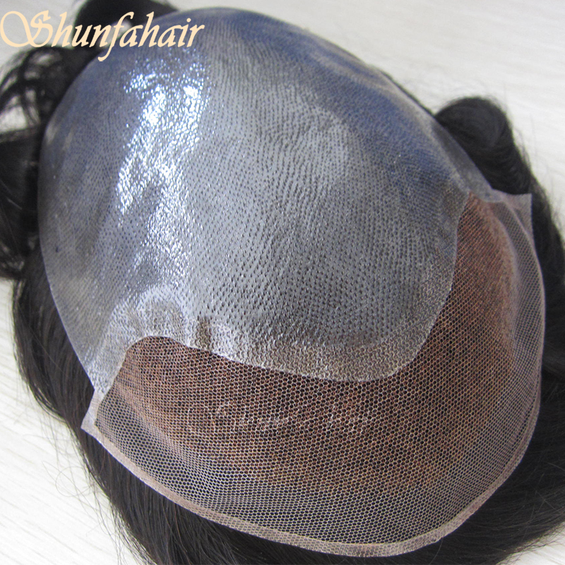 swiss lace man hair toupee indian remy human hair toupee