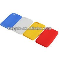 soft silicone mobile phone cover for iphone4/4s