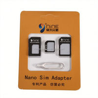 High Quality Universal 3 In 1 SIM Card Kits Micro And Nano Dual SIM Adapter