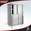 Stainless Steel Metal kitchen cabinets for sale(INEO is professional on commercial kitchen project)