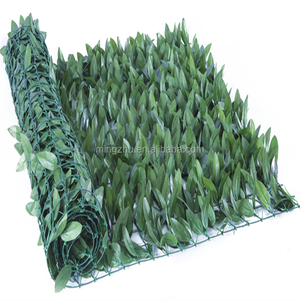 UV artificial ivy leave garden fence decoration