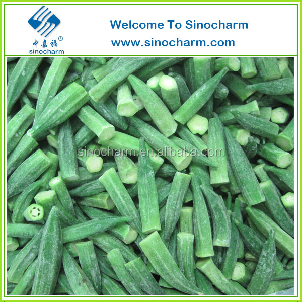 Supply Chinese Frozen Whole Okra