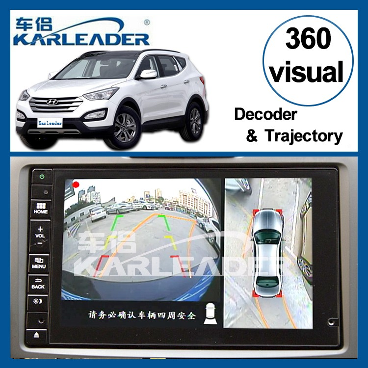 camera 360 around visual system for hyundai ix45