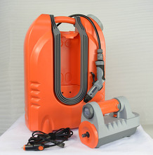 multi-purpose car washer machine , rechargeable with Led light ,power bank ,shower kit , dog washing , garden water planter