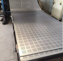 antiseptic punching galvanized perforated steel sheet