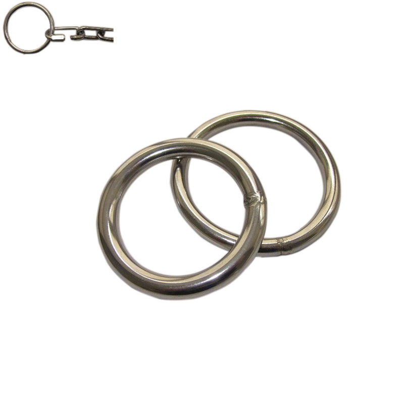 8*100 China supplier extra large D-ring used in horse saddle