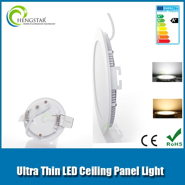12w ultrathin led panel light 3000K 12v dc led light panel