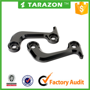 Aluminium alloy racing hooks for triumph daytona 675 parts