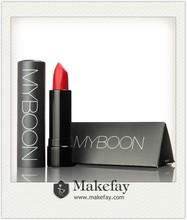2015 NEW ARRIVAL factory price Myboon high-end branded matte lipstick
