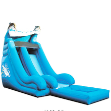 big commercial water slides high grade lake inflatable water slide for sale