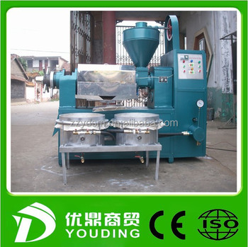 factory price and high quantity oil pressing machine/cooking oil processing machine/oil presser