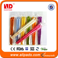100% Pure beeswax ear candles made in China
