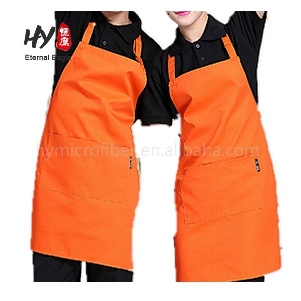 Hot sale sublimated cooking cotton with pockets apron