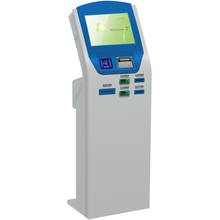 Information Kiosk Self Service with Touchscreen Card Reader Thermal Printer