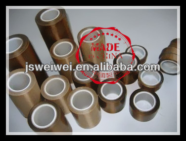 ptfe cutting ptfe coated fiberglass fabric cutting tape from china jiangsu veik (taixing weiwei)