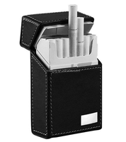 High quality Leather Cigarette Pack Holder with customized LOGO