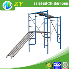 Silver metal scaffold plank and electric scaffold platforms for sale