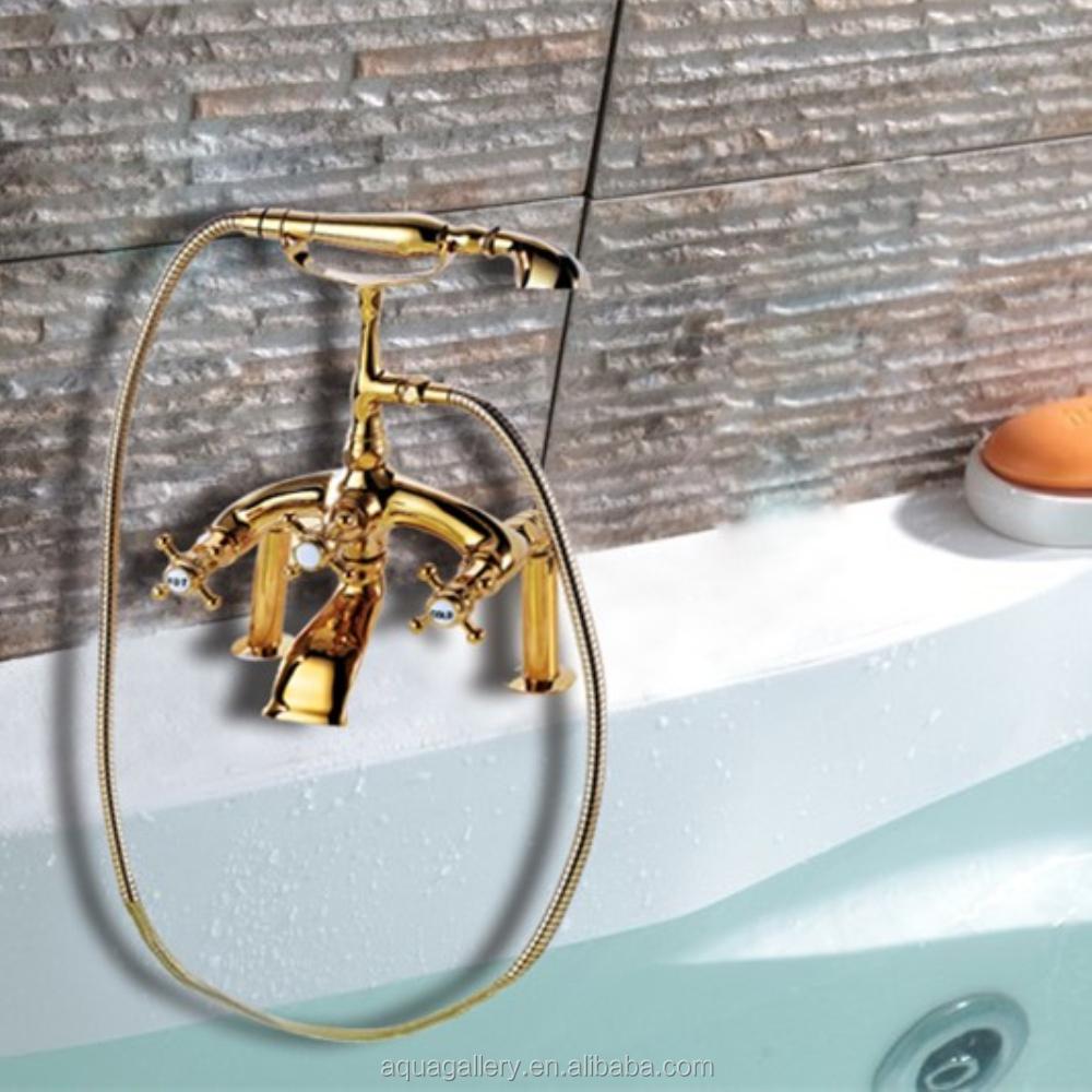 Vintage clawfoor tub faucet