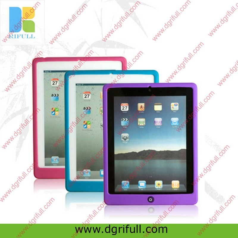 Wholesale color printing silicone case for ipad