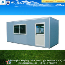 New design container house container office 20ft/china movable moduler export prefab container office house