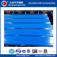 hot sell Az150 zincalume corrugated metal roofing price gold supplier