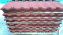 2016 Stone Chip Coated Metal Roof Tile/hot selling colorful stone coated metal roofing tile
