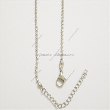 Ball chain necklace for floating glass locket pendant