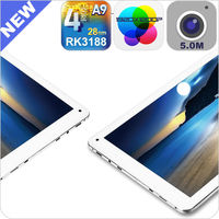 Fashion 10.1 inch quad core tablet with Ipad Retina IPS screen 2GB/16GB metal cover slim body