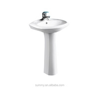Bathroom cabinet wash basin with faucet from China Factory