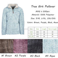 Wholesale Personalized Monogrammed True Girt Pullover