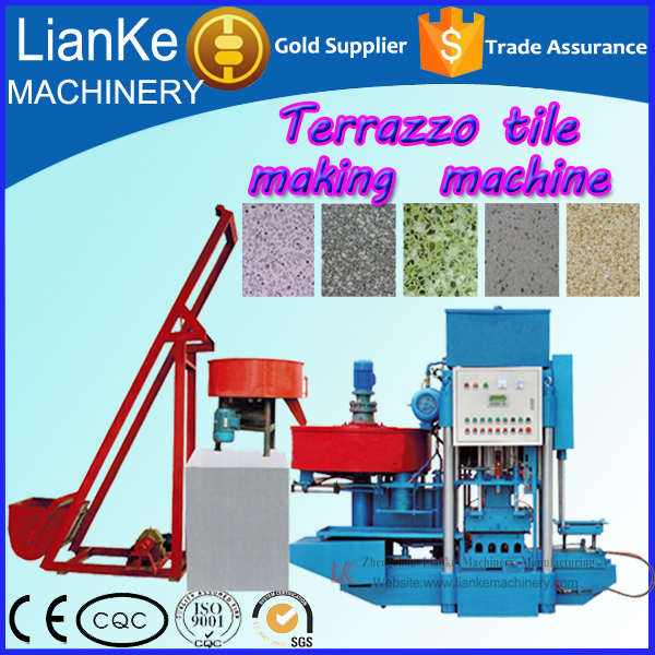 Cement Terrazzo Floor Tile Machine Price High Performance Hot Sale Press