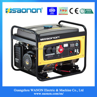 Hot sale product 5.5kva mini portable Electrical Power gasoline Generator set