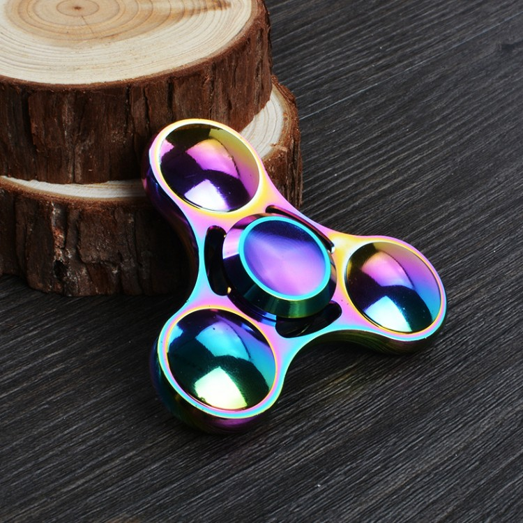 High Quality Finger Hand Fidget Spinner Copper & Alloy Metal Spinner