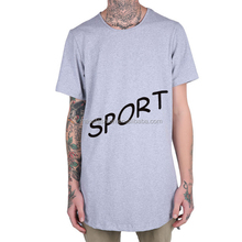 Cheap Design Clothes Long Tail Brands T Shirt For Men