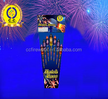 Hot sell Rocket fireworks with factory prices /Missiles fireworks of sky bottle rocket